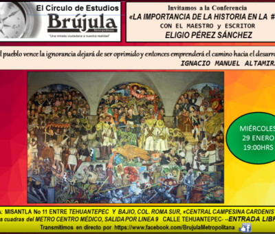 Invitación a Conferencia sobre Historia de México